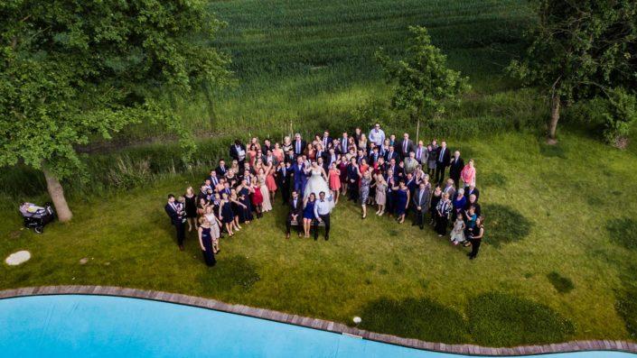 Hochzeit Drohne