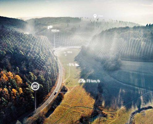Porsche Luftaufnahmen Drohne Christopherus Luftbild Weissach Drohne