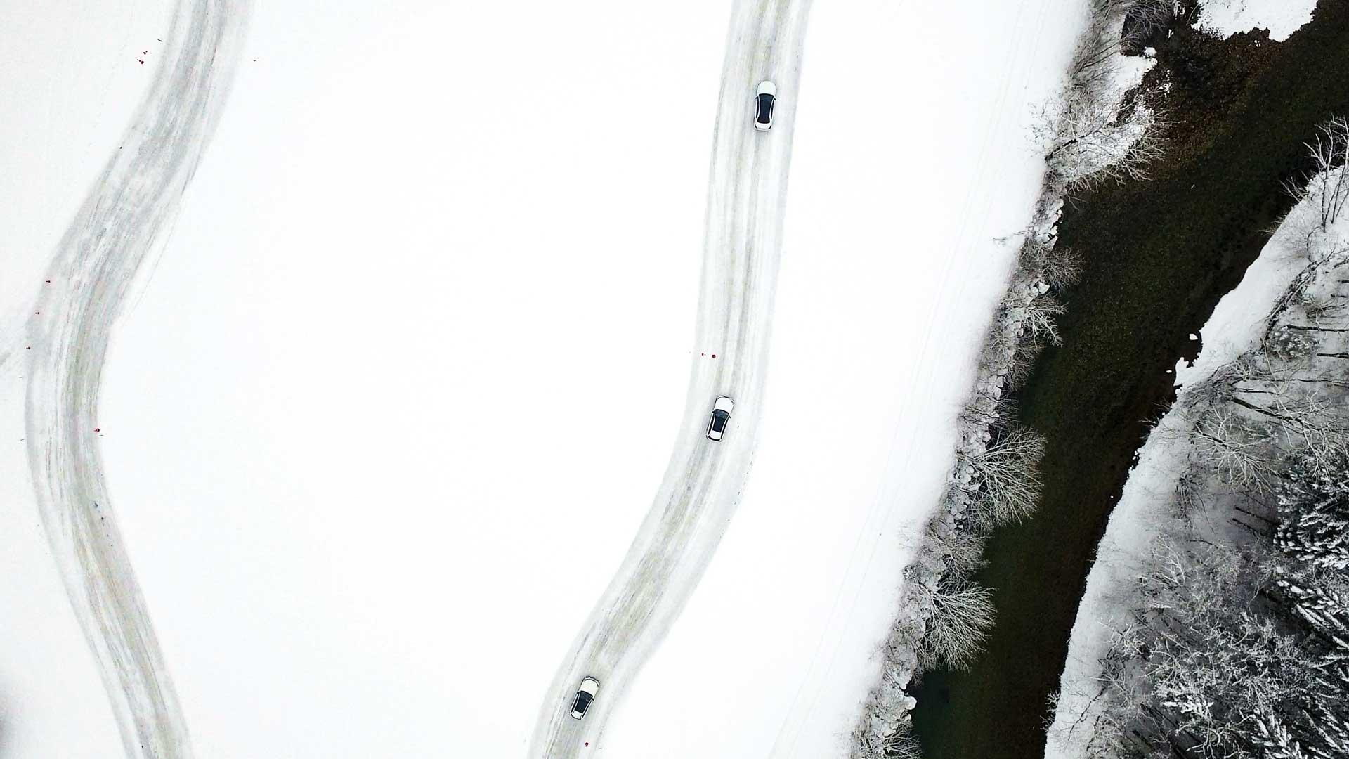 Saalfelden Austria FPV Drone - Mercedes Benz Driving Experience