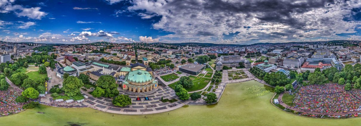 Luftaufnahmen Stuttgart