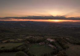 Luftaufnahmen Drohne Toskana