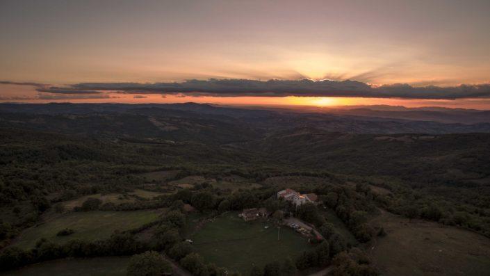 Luftaufnahmen Toskana