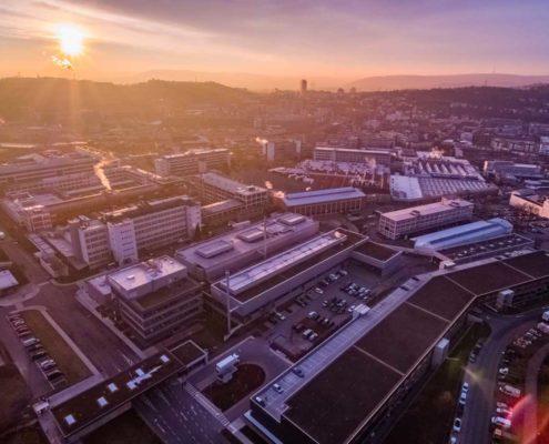 Drohne Bosch Stuttgart Feuerbach