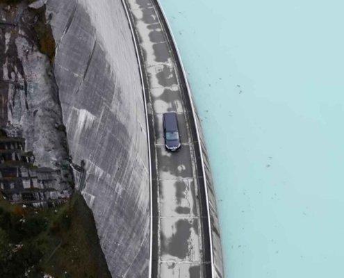 Luftaufnahmen Drohne Silvretta Luftaufnahmen Aerial Drone Filming