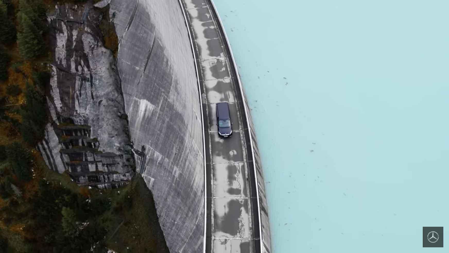Drohne Silvretta Montafon Österreich - Mercedes Marco Polo - VR-COPTER – AERIAL DRONE FILMING BY JOCHEN RIEHM