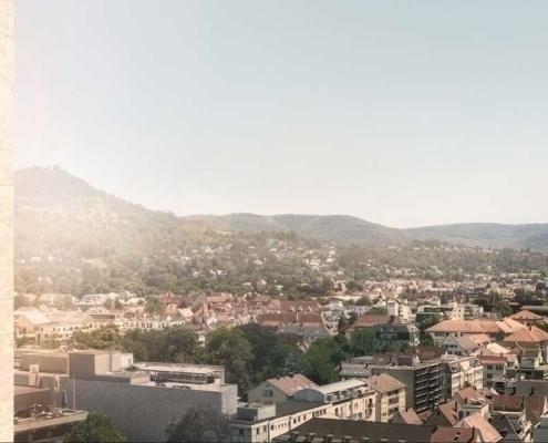 Drohne Architekturfotografie Bauvisualisierung Reutlingen